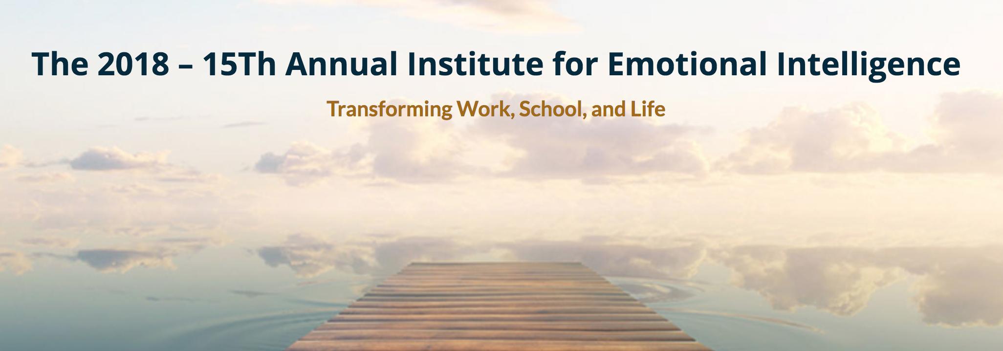2018 Institute for EI
